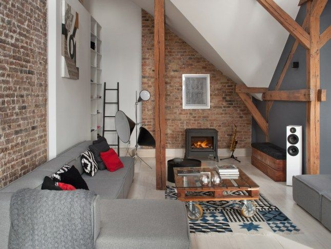 Il fascino del sottotetto blog arredamento living for Arredamento attico