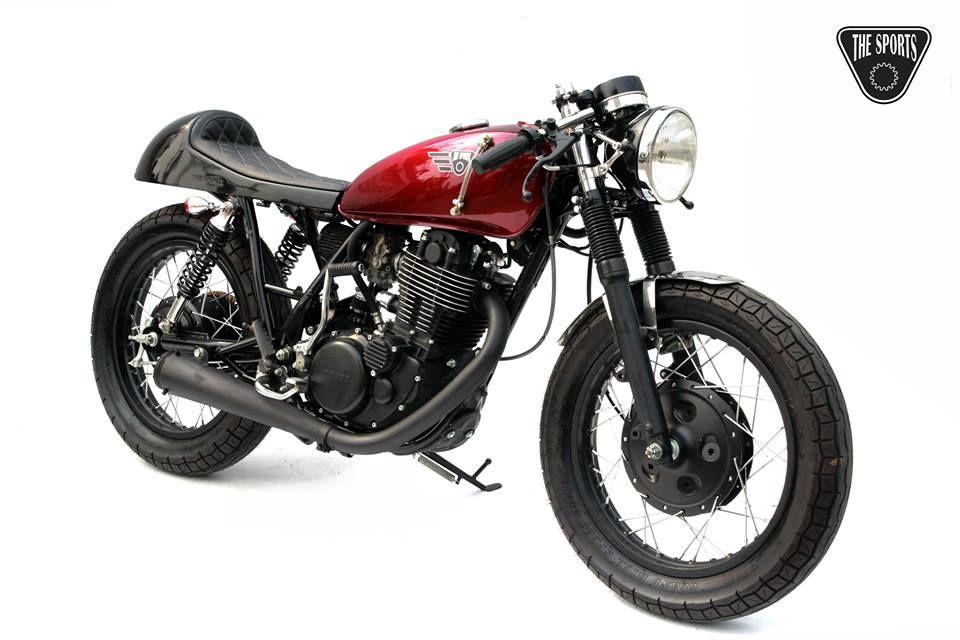 yamaha sr400 - the sports custom - racing cafe | motorcycles