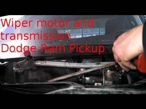 How To Replace Windshield Wiper Transmission