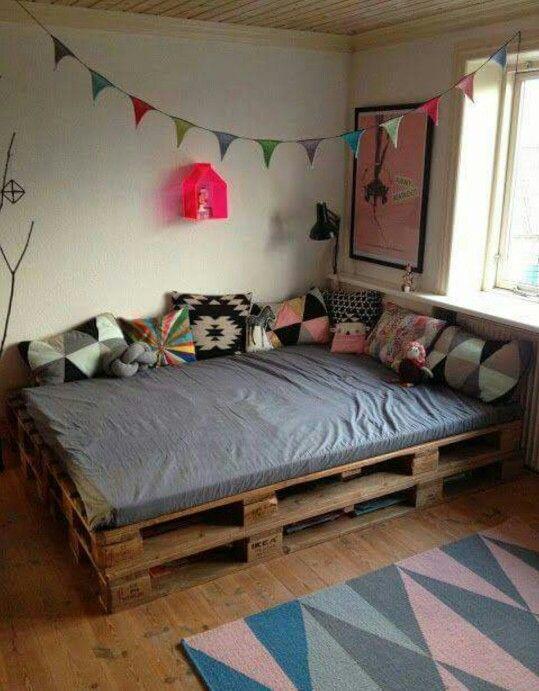 Pin de Priscilla Moreno en Home decor | Pinterest | Camas, Palets y ...