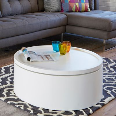 White Lift Up Coffee Table.Drum Lift Coffee Table White Furniture In 2019 White Gloss
