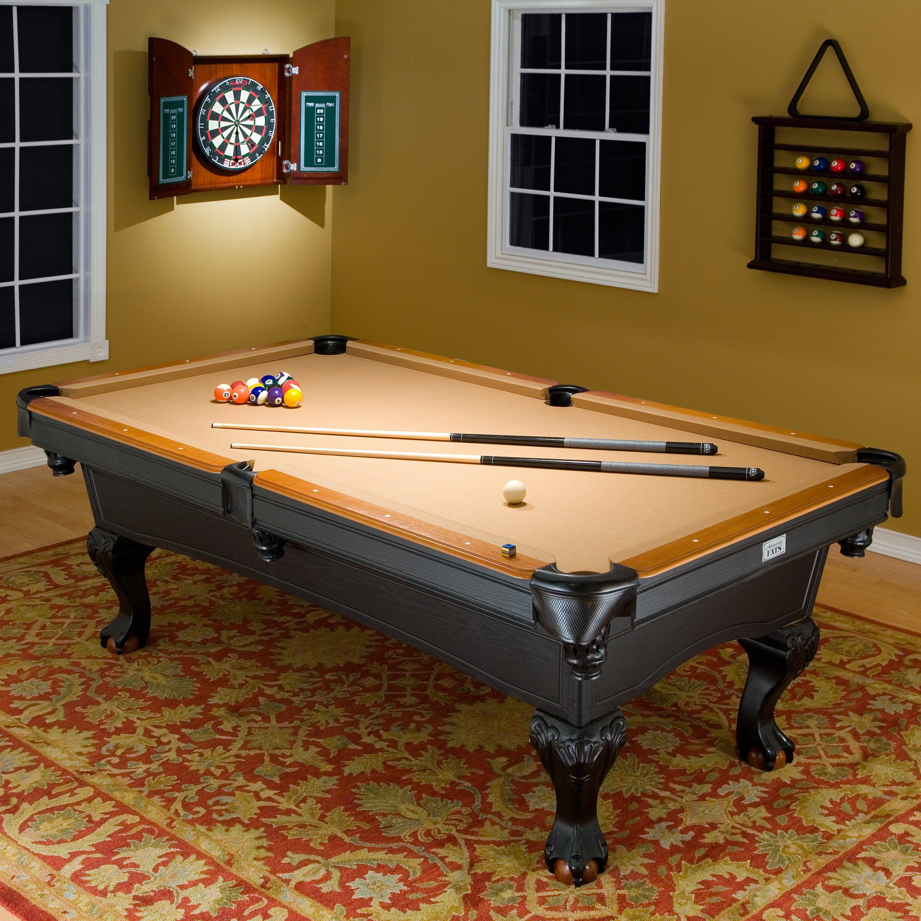 Covington Billiard Table   The Minnesota Fats Covington Billiard Table   8  Ft. Is An Affordable Full Sized Pool Table Thatu0027s Perfect For The Game Room.