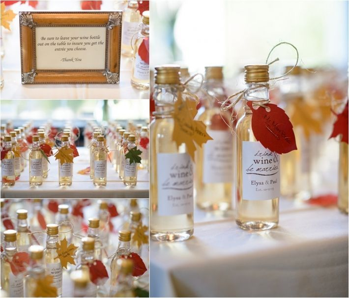 Rustic Fall Wedding Favor Ideas: 10 Unique Wedding Favor Ideas – Tulle Tales