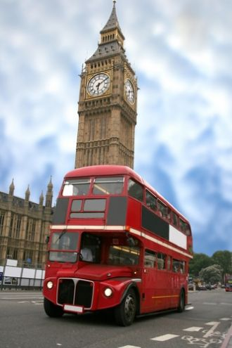 London Transportation, Big Ben.