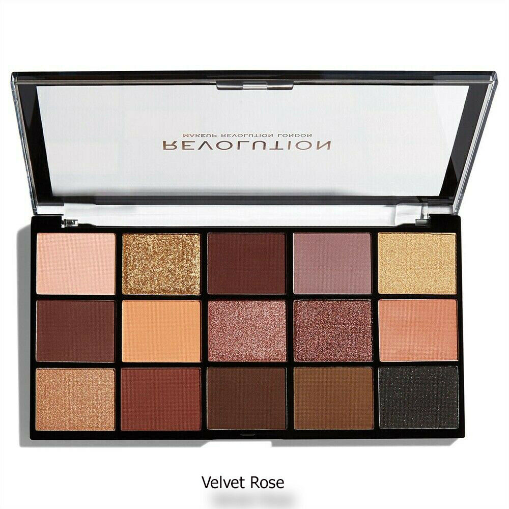 Details about Makeup Revolution Eyeshadow Palette ReLoaded