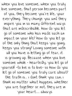 one paragraph about love