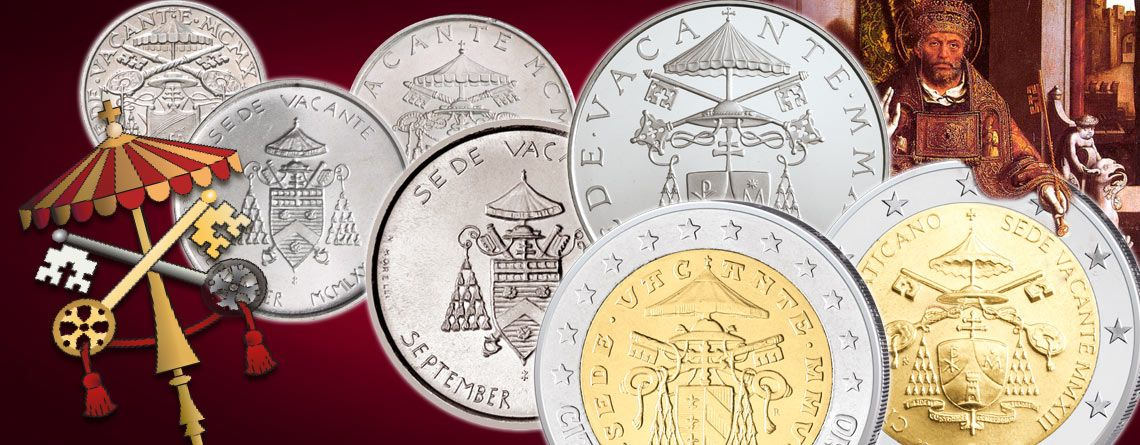 Vatikan Münzen zur Sedisvakanz ein spannendes