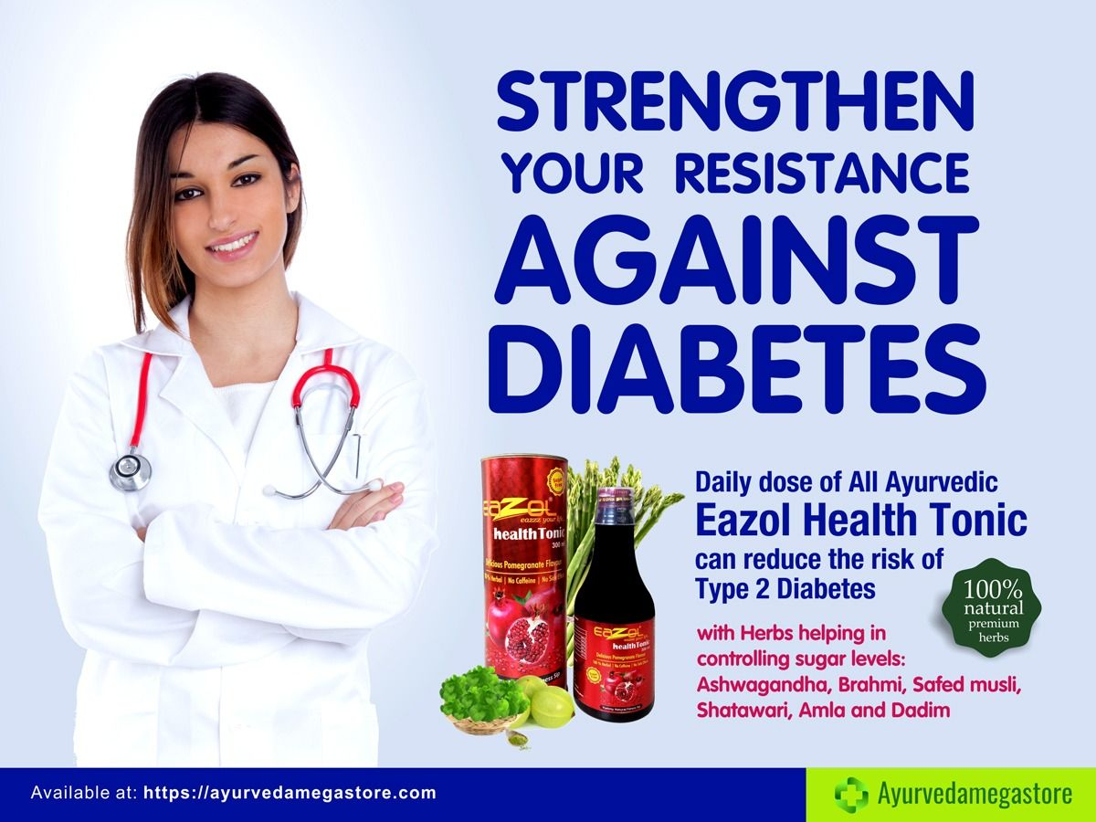 Strengthen Your Resistance Against Diabetes Use Eazol Health