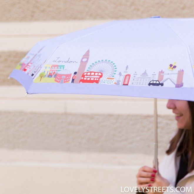 Small umbrella Lovely Streets - London #smallumbrella Small umbrella Lovely Streets - London - Mr. Wonderful #smallumbrella