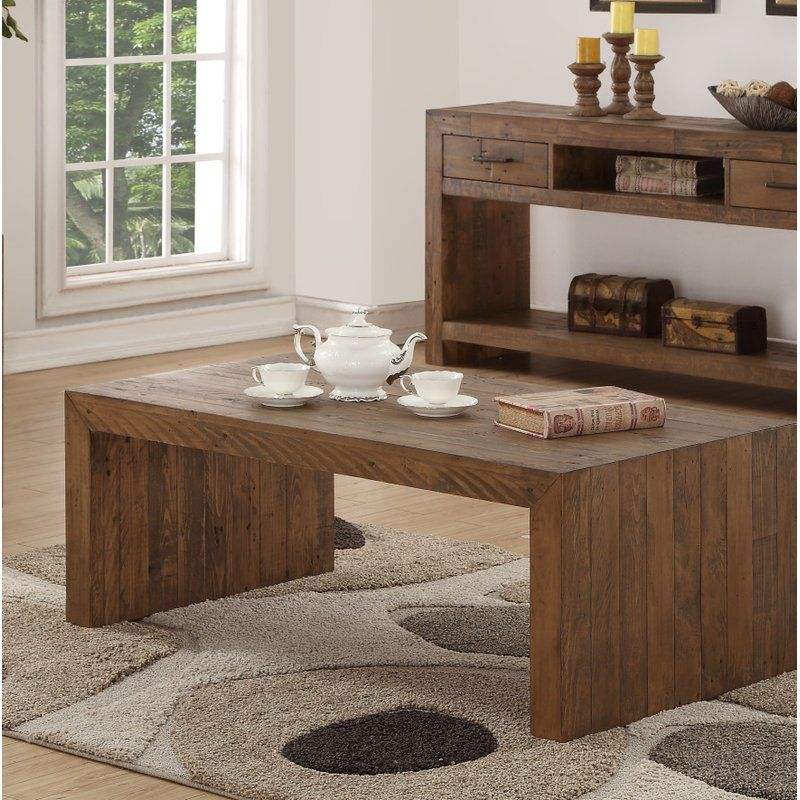 Mccart Coffee Table 265 99 With Images Coffee Table 4 Piece Coffee Table Set Solid Wood Coffee Table