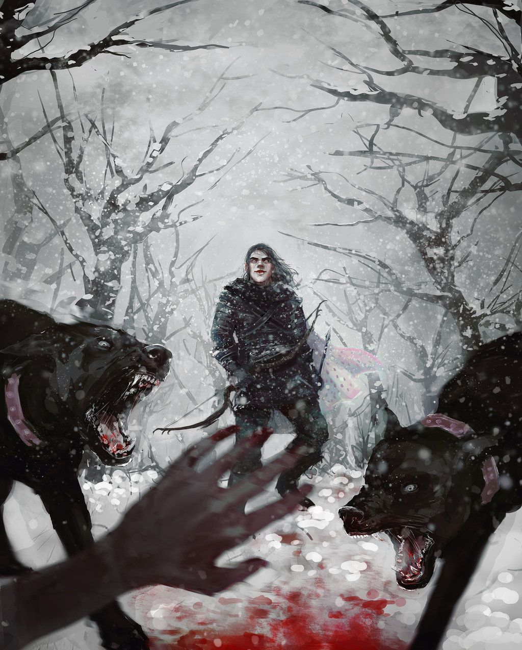 Hunting By Lynxsphinx On Deviantart With Images Asoiaf Art A