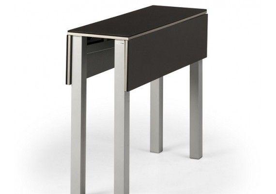Mesa de cocina estrecha greta con fondo de 30 cm y for Mesa cocina estrecha
