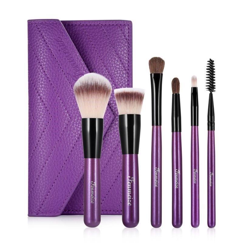 Travel Size Makeup Brush Kit Saubhaya Makeup