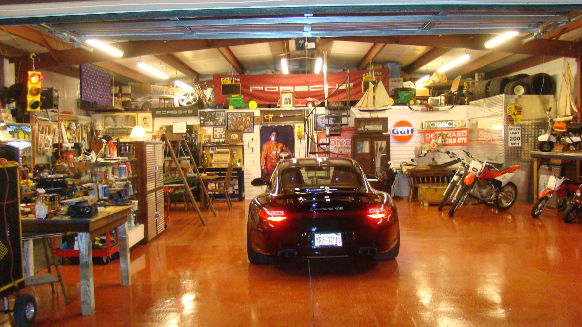 Mechanic Man Cave Ideas : Mancave every man needs his space and a complete with