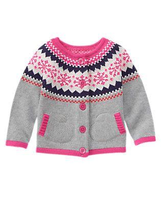 Gymboree Fair Isle Cardigan | Fleury clothes | Pinterest ...