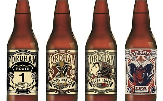 Beer Labels Design Fordham S Launch New Beer And Range