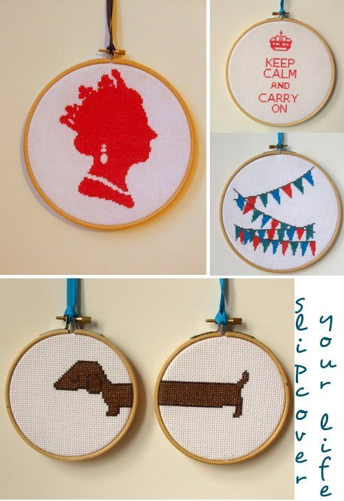 Modern Cross Stitch.