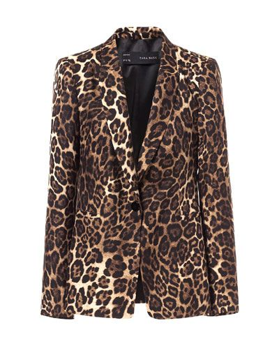 c594828af081 Image 6 of ANIMAL PRINT BLAZER from Zara | Fashion: Coat,Jacket ...