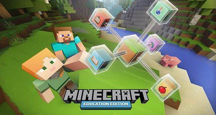 Microsoft Announces Minecraft Education Edition Learning Liftoff Education Minecraft Uk Education
