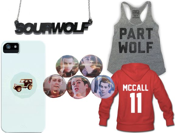 teen wolf wardrobe | Teen Wolf' 'Stan Swag': Show Off Your Werewolf Fandom With ...
