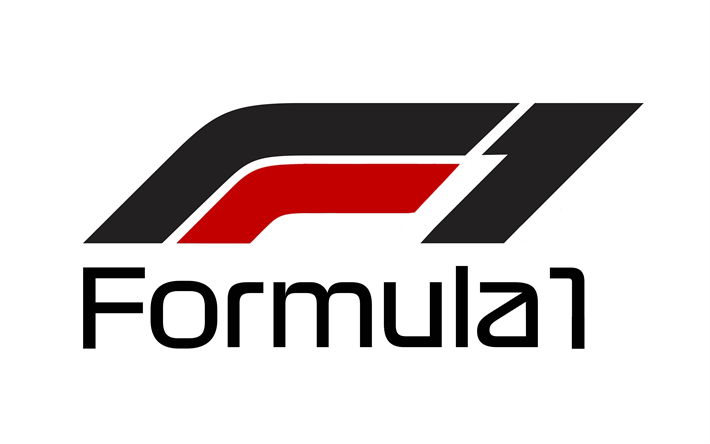 Download Wallpapers 4k Formula 1 2017 New Logo F1 Fia