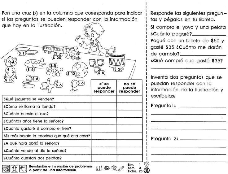 Resultado de imagen para actividades de español para cuarto grado de ...