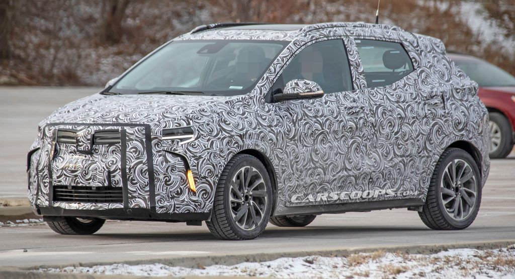 Chevrolet Bolt-Based Electric Small Crossover Spied Testing In The U.S. After Being Uncovered In Ch
