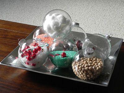 Como hacer centros de mesa navide os y originales - Como hacer centros navidenos ...