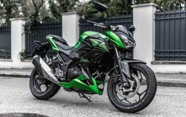 Updated Kawasaki Z300 2017 Kawasaki Bike News Bike