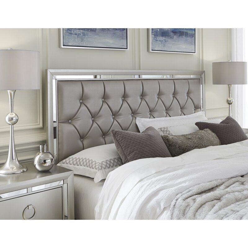 rosaline tufted upholstered standard configurable bedroom