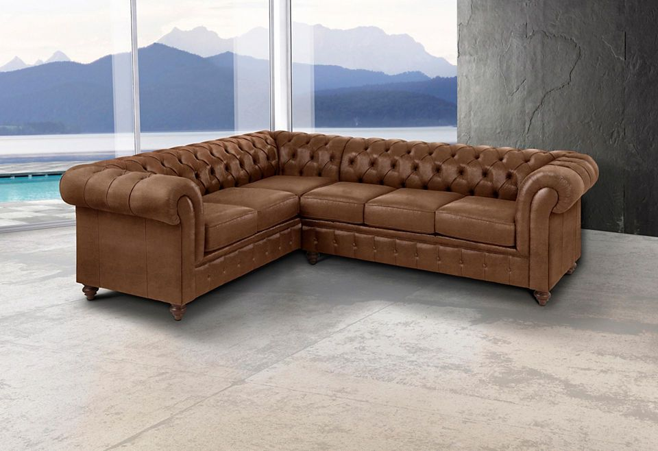 Premium collection by Home affaire Ecksofa »Chesterfield« Jetzt ...