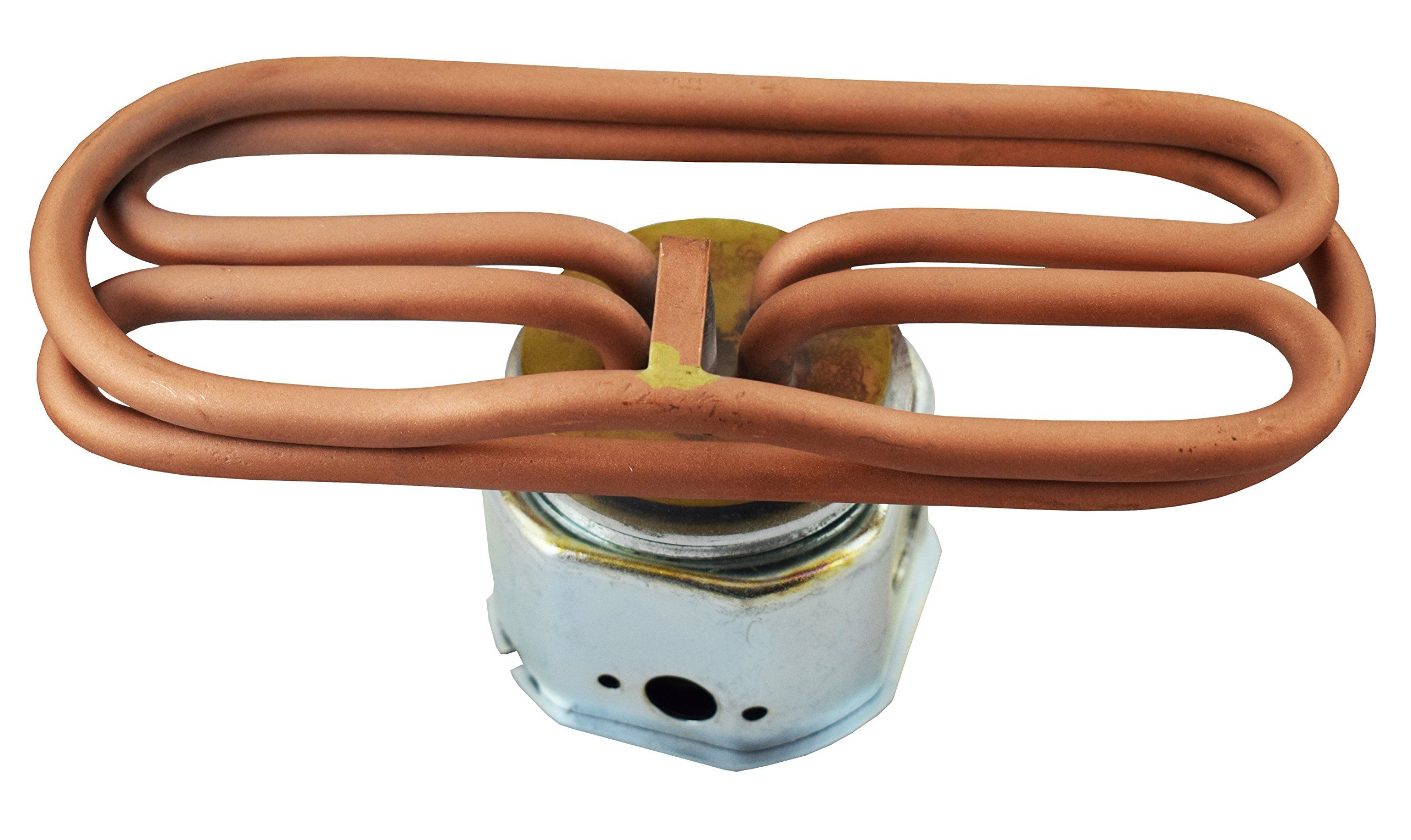 Commercial electric water immersion heating element brass