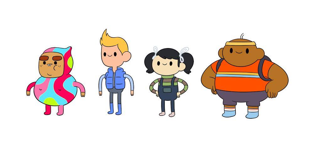 bravest warriors youtube | Bravest Warriors as Kids //My littler-sized designs of the Bravest ...