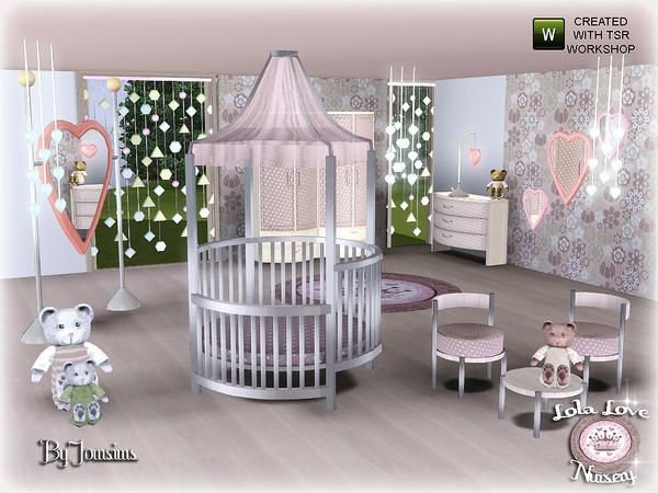 jomsims Lola Love Nursery Sims baby, Sims, Sims 4 toddler