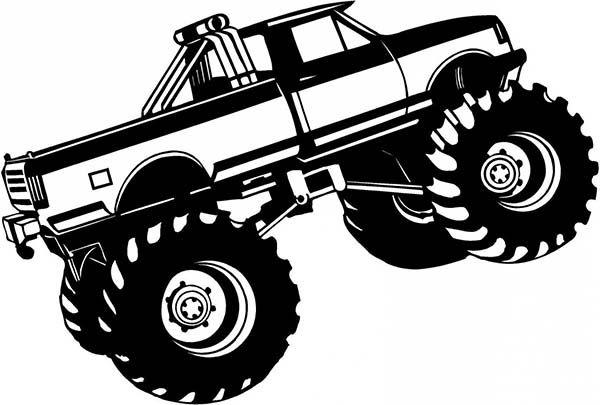 Bigfoot Monster Truck Coloring Page Monster Trucks Truck Coloring Pages Monster Truck Coloring Pages