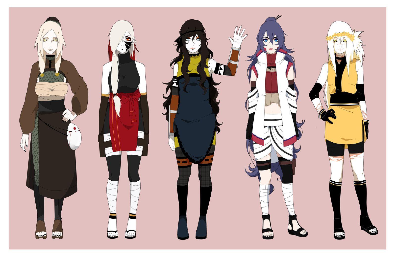 Pin by Andrew Cesar on Ninja Manga girl, Anime outfits