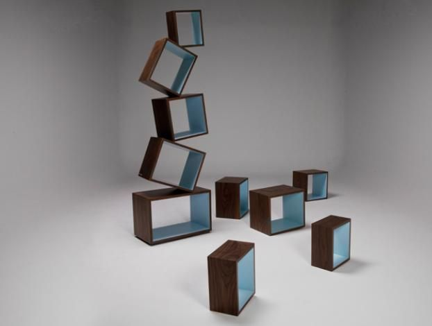 equilibrium bookcase - Funky Bookshelves