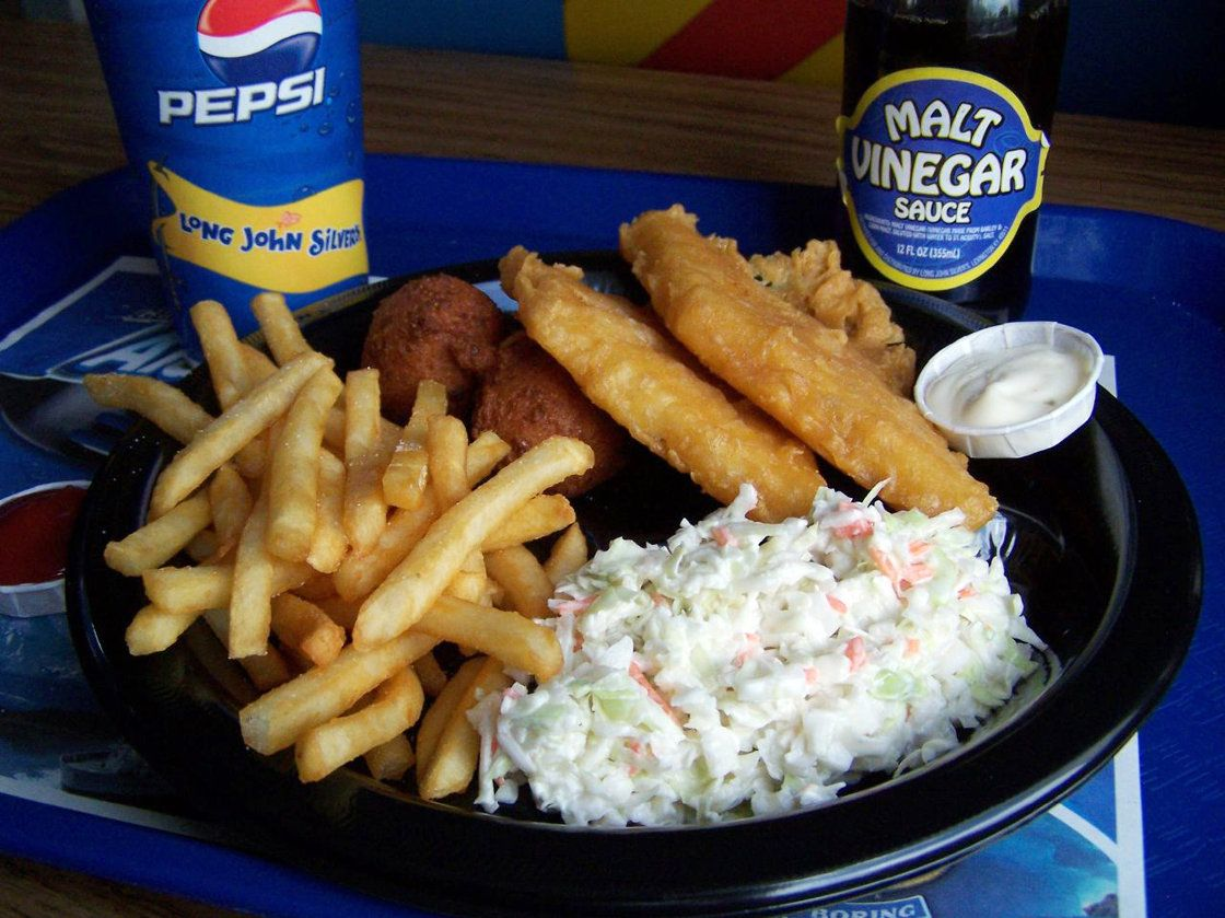 Long John Silver S Throws Trans Fats Overboard Food Fast Food Chains Long John Silver