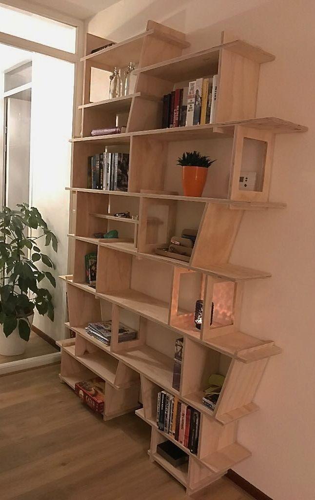 vakjeskast woonkamerkast boekenkast underlayment | Kast | Pinterest