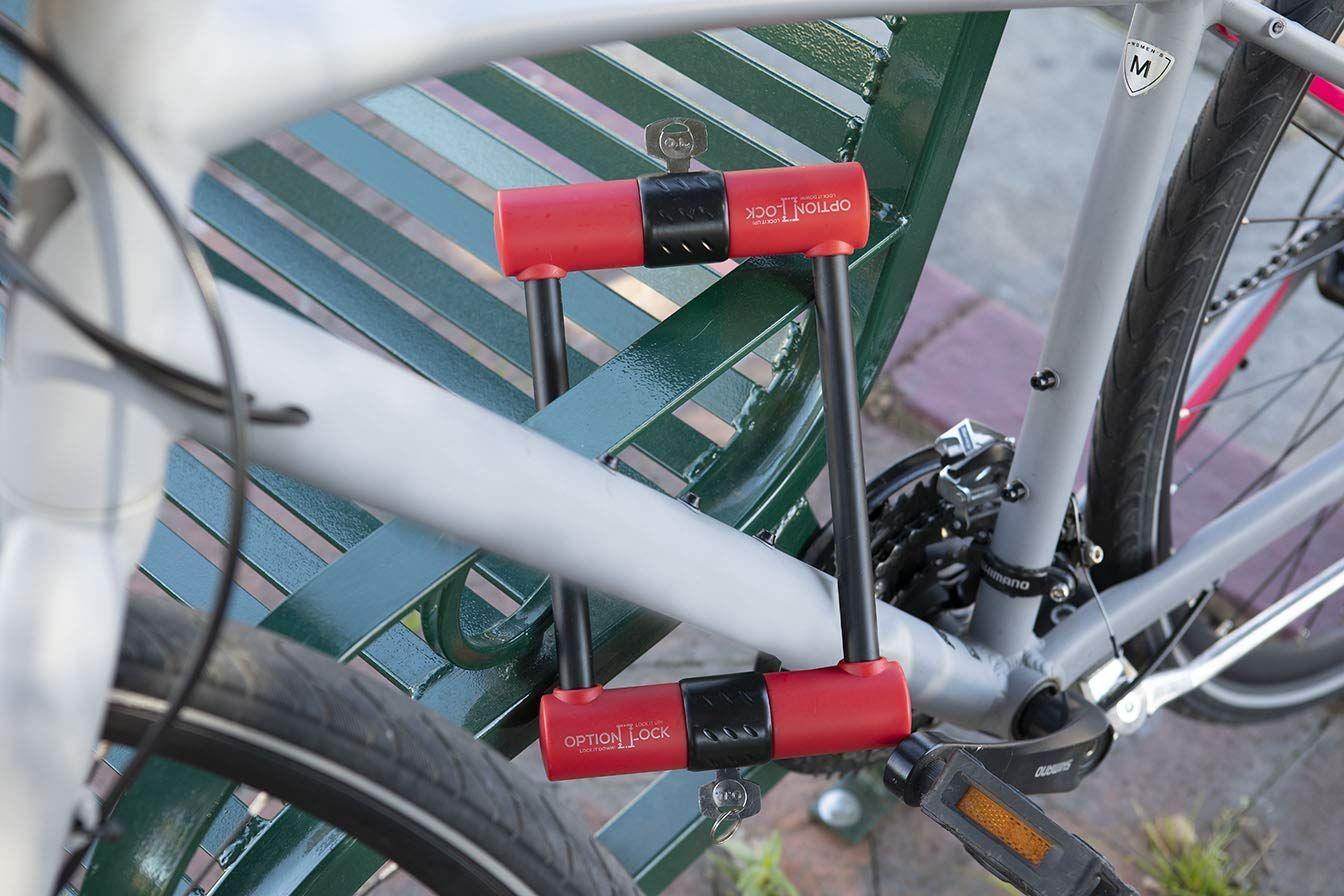 Option Lock Original Two Sided Bike Lock Bike Cool Bike