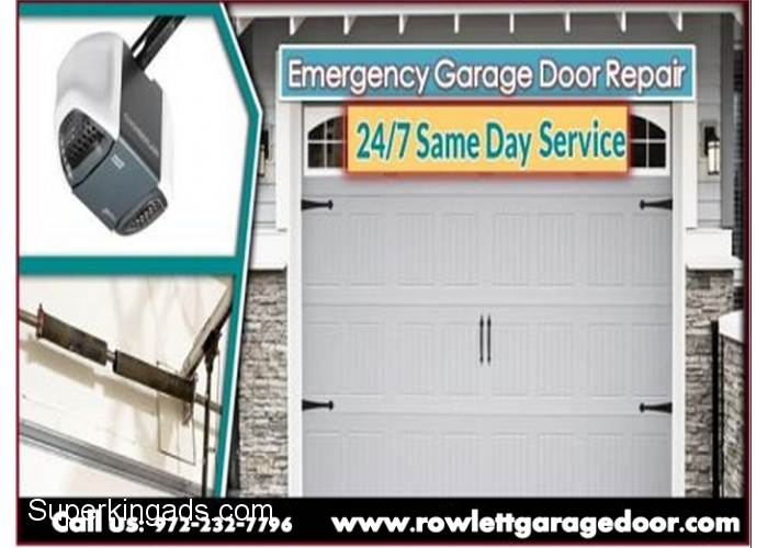 Residential Garage Door Repair Service 75087 Same Day Service