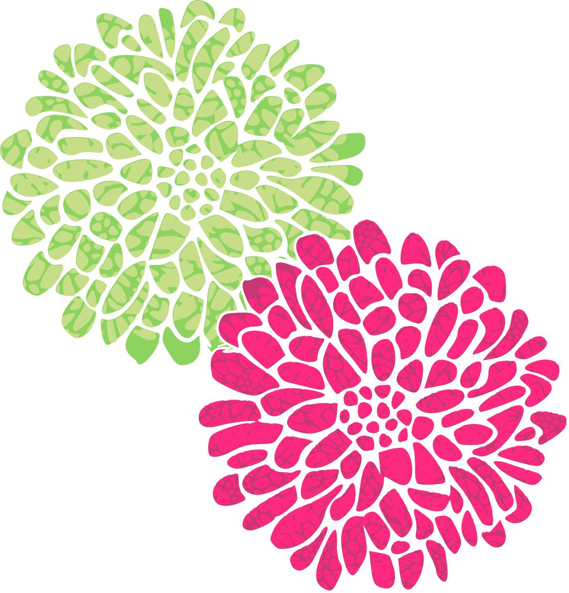 green flower design www pixshark com images galleries flower clip art png flower clip art template