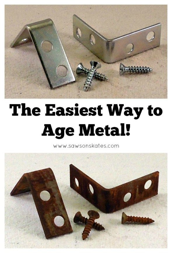 The Easiest Way To Age Metal Ever  Aging Metal Metals And Easy