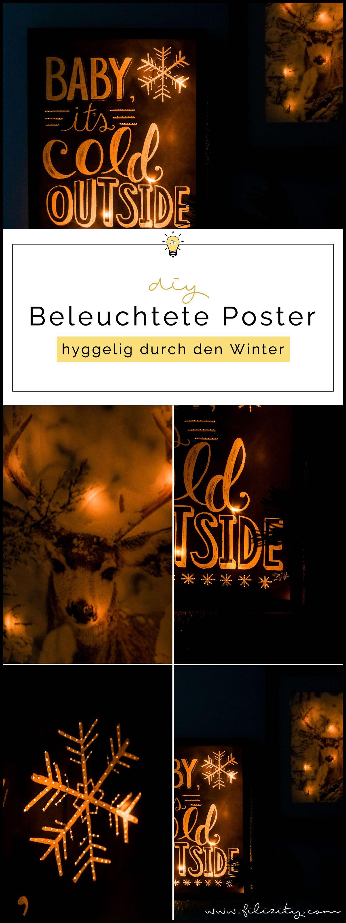 Poster Selber Machen: Beleuchtete Bilder Selber Machen. Finest Beleuchtete