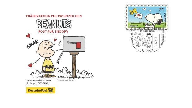 Postfilialen ohne PeanutsBlock Poster, Deutsche post