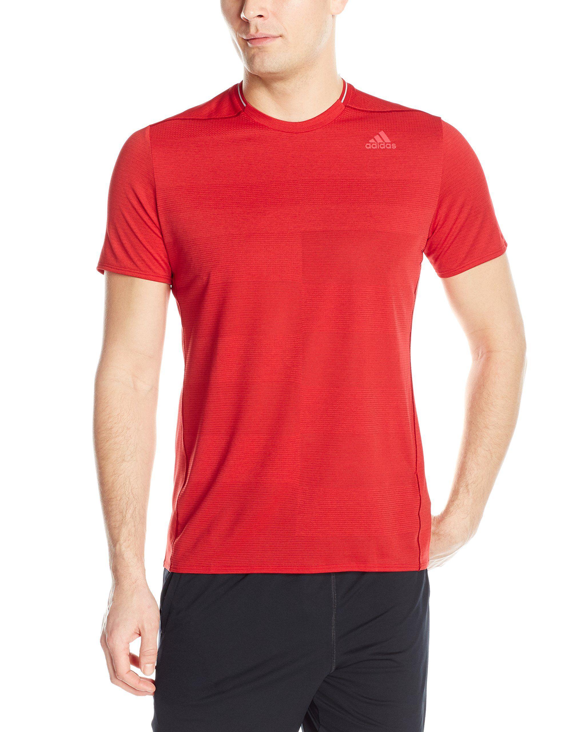 adidas supernova shirt scarlet