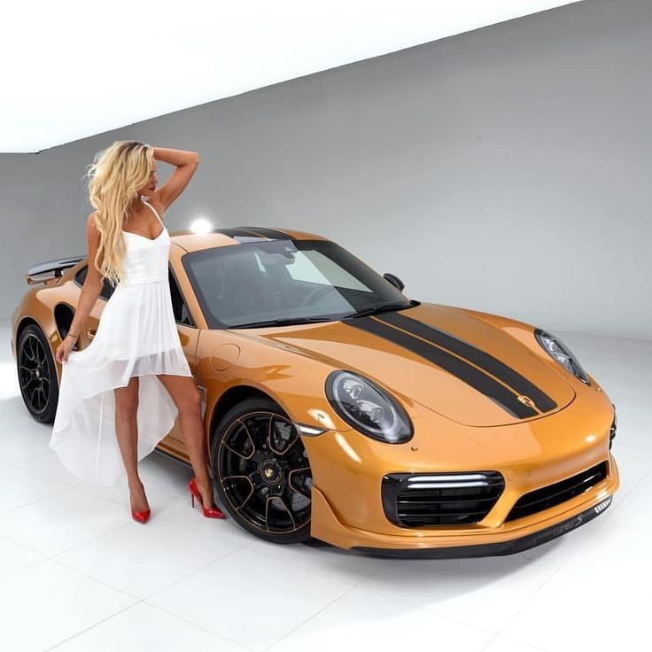 Nicest Porsche Cars Around: Very Nice 😍 Car 🚗 And The Wife 👩 Both Are Very Beautiful