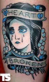 Heart Broken Tattoo