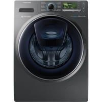 Samsung Ww12k8412ox 12kg Addwash Ecobubble 1400rpm Freestanding Washing Machine Graphite With Images Front Loading Washing Machine Washing Machine Samsung Addwash