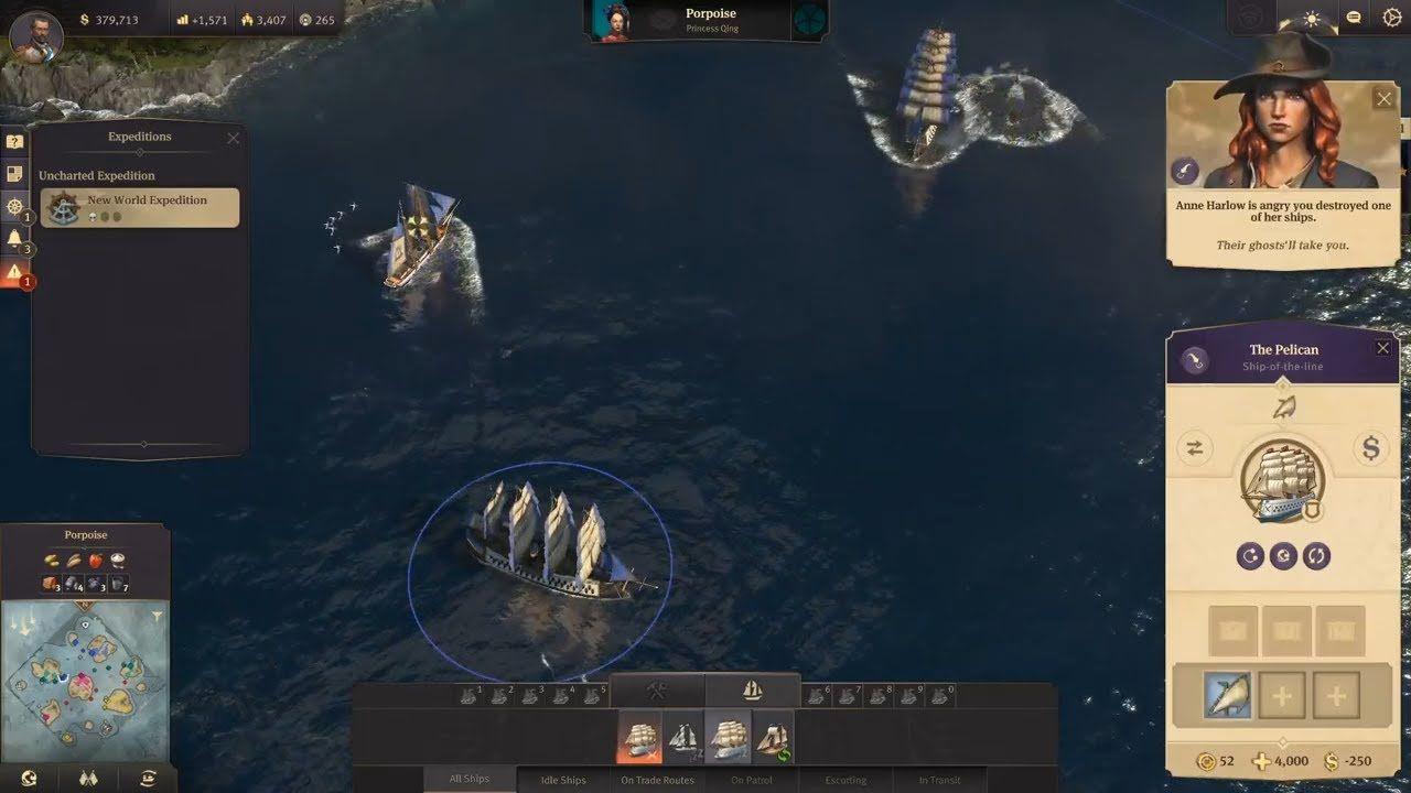 Anno 1800 multiplayer first gameplay build repair crane